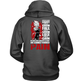Super Saiyan Majin Vegeta Unisex Hoodie T shirt - LESSONS FROM PAIN - TL00059HO