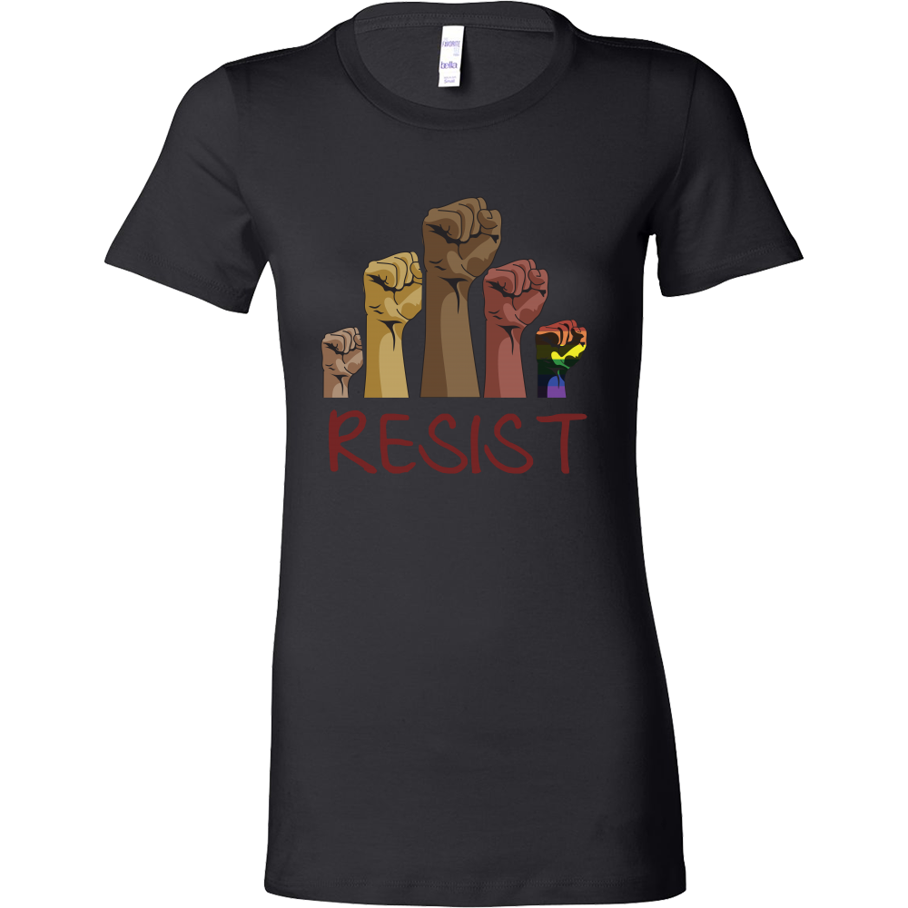 LGBT - Resist - Woman Short Sleeve T Shirt - TL01170WS