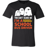 Halloween - You can't scare me i'm a school bus driver - Men Short Sleeve T Shirt - TL00722SS