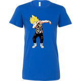 Super Saiyan Vegeta Dab Dance Woman Short Sleeve T Shirt - TL00235WS