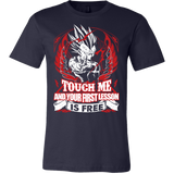 Super Saiyan Majin Vegeta Firt Lesson Men Short Sleeve T Shirt - TL00130SS