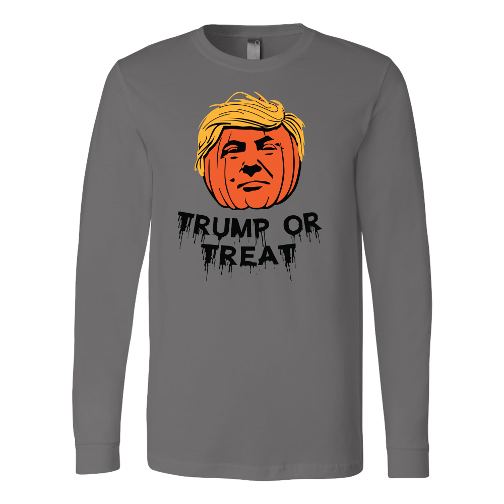 Halloween - Trump Or Treat - Men Long Sleeve T Shirt - TL00799LS