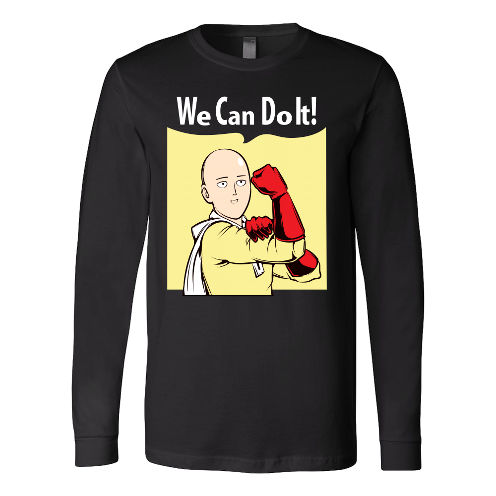 One Punch Saitama We Can Do It Long Sleeve T shirt - TL00452LS