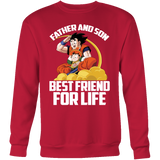 Super Saiyan Goku and Gohan Father and Son Day Sweatshirt T Shirt - TL00477SW