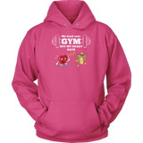 Taco mexian my head say gyms but my heart says taco Unisex Hoodie Funny T Shirt - TL00613HO
