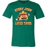 Taco mexican every juan loves tacos Men Short Sleeve Funny T Shirt - TL00566SS
