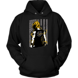 American Super Saiyan Goku Unisex Hoodie T shirt -TL00046HO - The TShirt Collection