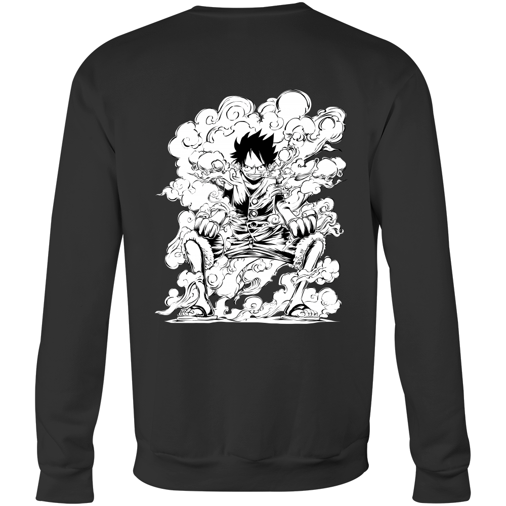 One Piece - Luffy - Unisex Sweatshirt T Shirt - TL00914SW