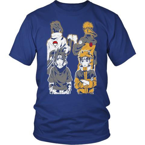 Naruto - Naruto and Sasuke Best Friend - Men Short Sleeve T Shirt - TL01141SS