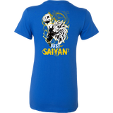 Super Saiyan Goku Dragon Fist Woman Short Sleeve T shirt - TL00035WS