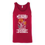 Super Saiyan Gohan Silent for Ignorance Unisex Tank Top T Shirt - TL00448TT
