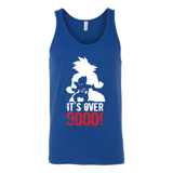Super Saiyan Over 9000 Unisex Tank Top T Shirt - TL00532TT