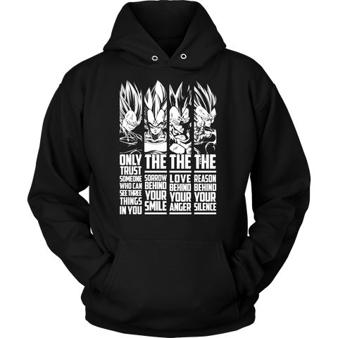 Only Trust Some one who can see three things in you - TL01365HO - Hoodie