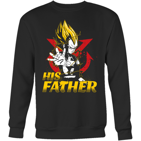 Super Saiyan Vegeta Dad Sweatshirt T Shirt - TL00490SW