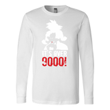 Super Saiyan Over 9000 Long Sleeve T shirt - TL00532LS