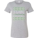 Christmas Tee – CLARI Christmas!! - Woman Short Sleeve T Shirt - TL01007WS
