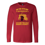 Hobbies - on the 8th day god created the redheads - unisex long sleeve t shirt - TL00833LS