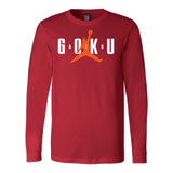 Super Saiyan Long Sleeve T shirt - Goku Air - TL00042LS