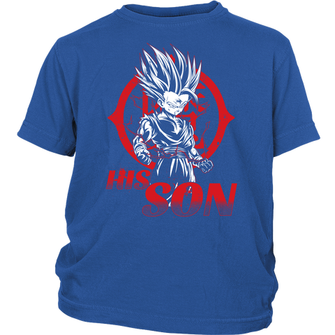 Super Saiyan Gohan Son Men Short Sleeve T Shirt - TL1359YS