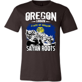 Super Saiyan Oregon Grown Saiyan Roots Men Short Sleeve T Shirt - TL00168SS