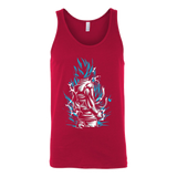 Super Saiyan God Blue Goku Unisex Tank Top T Shirt - TL00020TT
