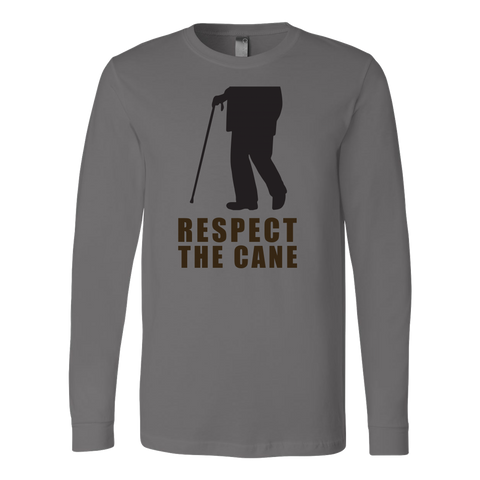 Respect The Cane Long Sleeve T Shirt - TL00691LS