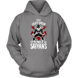 Super Saiyan Vegeta Unisex Hoodie T shirt - I Can't Keep Calm - TL00058HO