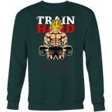 Super Saiyan Goku Gym Train Hard Sweatshirt T Shirt - TL00441SW