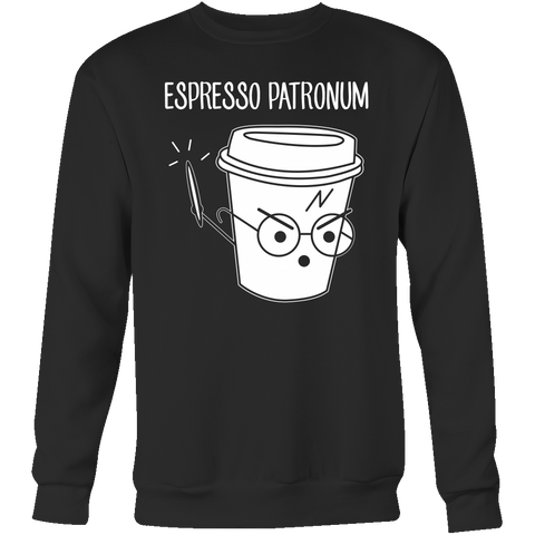 Espresso Patronum Sweatshirt T Shirt - TL00634SW - The TShirt Collection