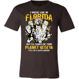 Super Saiyan Florida Group Men Short Sleeve T Shirt - TL00006SS