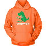 Dinosaur - I am unstoppable - Unisex Hoodie T Shirt - TL00845HO - The TShirt Collection