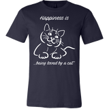 Happiness Is Being Loved By A Cat Men Short Sleeve T Shirt - TL00635SS