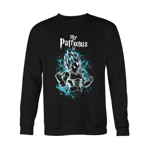 Super Saiyan - My Patronus is Vegeta God Blue - Holiday Special Sweatshirt - TL00899SW