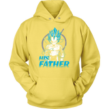 Super Saiyan Vegeta God Dad Unisex Hoodie T shirt - TL00488HO
