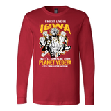Super Saiyan Iowa Long Sleeve T shirt - TL00090LS