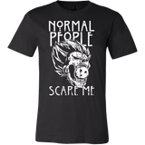 Saiyan-Normal people scare me- men short sleeve t shirt - TL00872SS