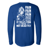 Super Saiyan Majin Vegeta Pain Long Sleeve T shirt - TL00437LS