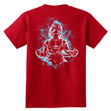 Super Saiyan - Goku God Blue - Youth Short Sleeve T Shirt - TL00888YS