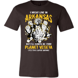 Super Saiyan Arkansas Men Short Sleeve T Shirt - TL00096SS