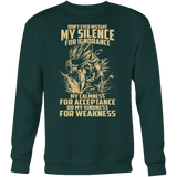 Super Saiyan Gohan Silent for Ignorance Sweatshirt T Shirt - TL00449SW