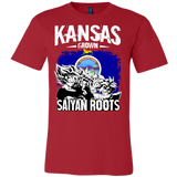 Super Saiyan Kansas Grown Saiyan Roots Men Short Sleeve T Shirt - TL00150SS