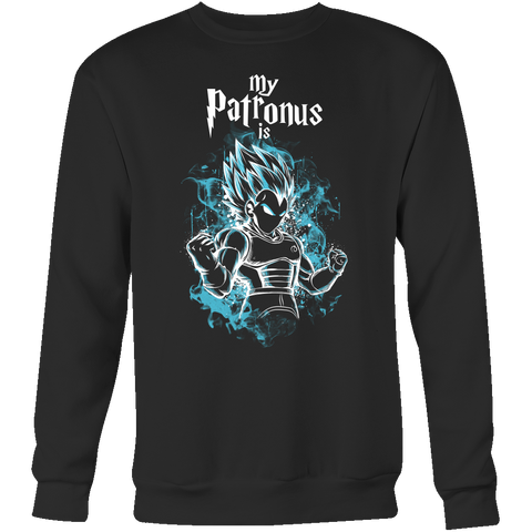 Super Saiyan - My Patronus is Vegeta God Blue - Unisex Sweatshirt  - TL00899SW