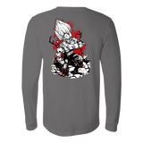 Super Saiyan Majin Vegeta Long Sleeve T shirt - TL00054LS