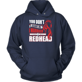 Hobbies - you dont scare me i married a redhead 2 - unisex hoodie t shirt - TL00837HO
