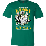 Super Saiyan Vermont Men Short Sleeve T Shirt - TL00105SS