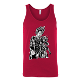 Super Saiyan Majin Vegeta and Trunks Unisex Tank Top T Shirt -TL00218TT