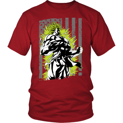 Super Saiyan - Broly American - Men Short Sleeve T Shirt - TL00001SS