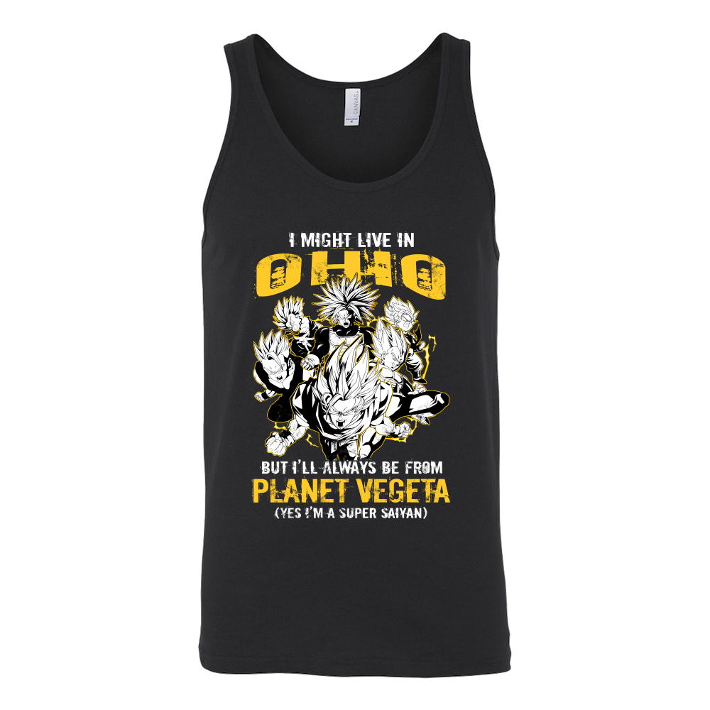 Super Saiiyan Ohio Group Unisex Tank Top T Shirt - TL00063TT
