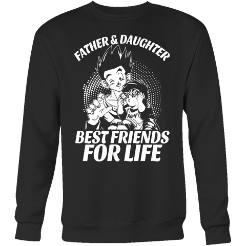 Super Saiyan Gohan and Pan Father and Daughter best friends Sweatshirt T Shirt - TL00478SW