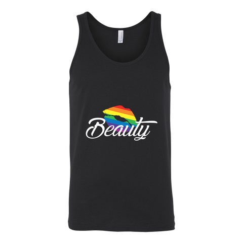 Matching Couples T-shirt ,Beauty Gay Lesbian LGBT Shirt - Unisex Tank Top T Shirt - TL01266TT